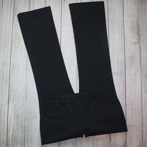 EXPRESS Size 6 Black Dress Pants COLUMNIST